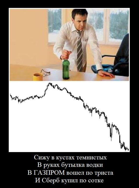 Газпром демотиватор, Демотиваторы банк