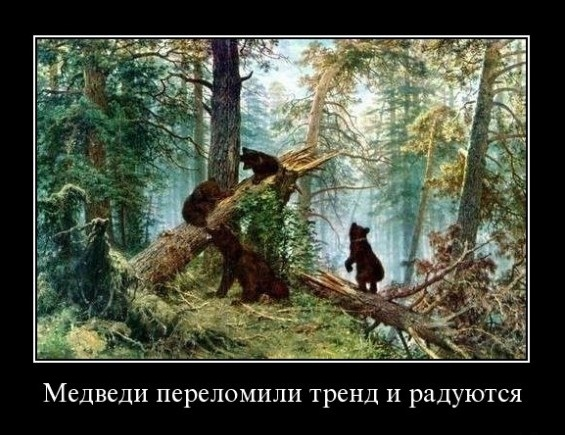 медведи переломили тренд