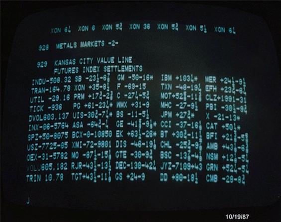Черный понедельник 19.10.1987