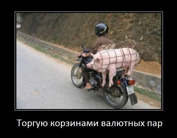 торгую корзинами валютных пар, свинья в корзине валют