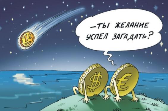 рубль падает загадать желание